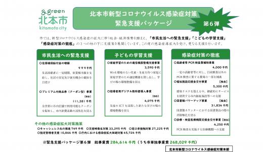 北本市新型コロナ対策緊急支援パッケージ【第6弾】